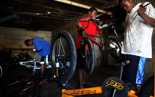 Running a bike shop