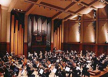 2000 Fisk organ at Benaroya Hall, Seattle, WA
