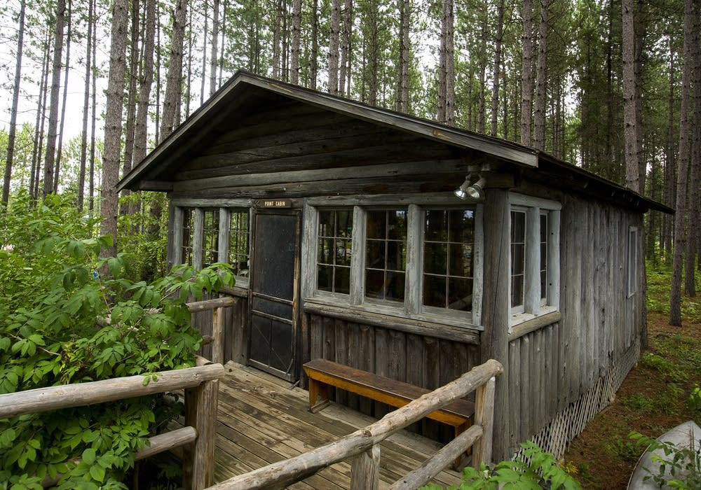 One of Molter's two cabins