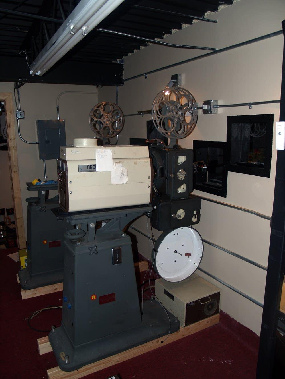 Trylon projectors