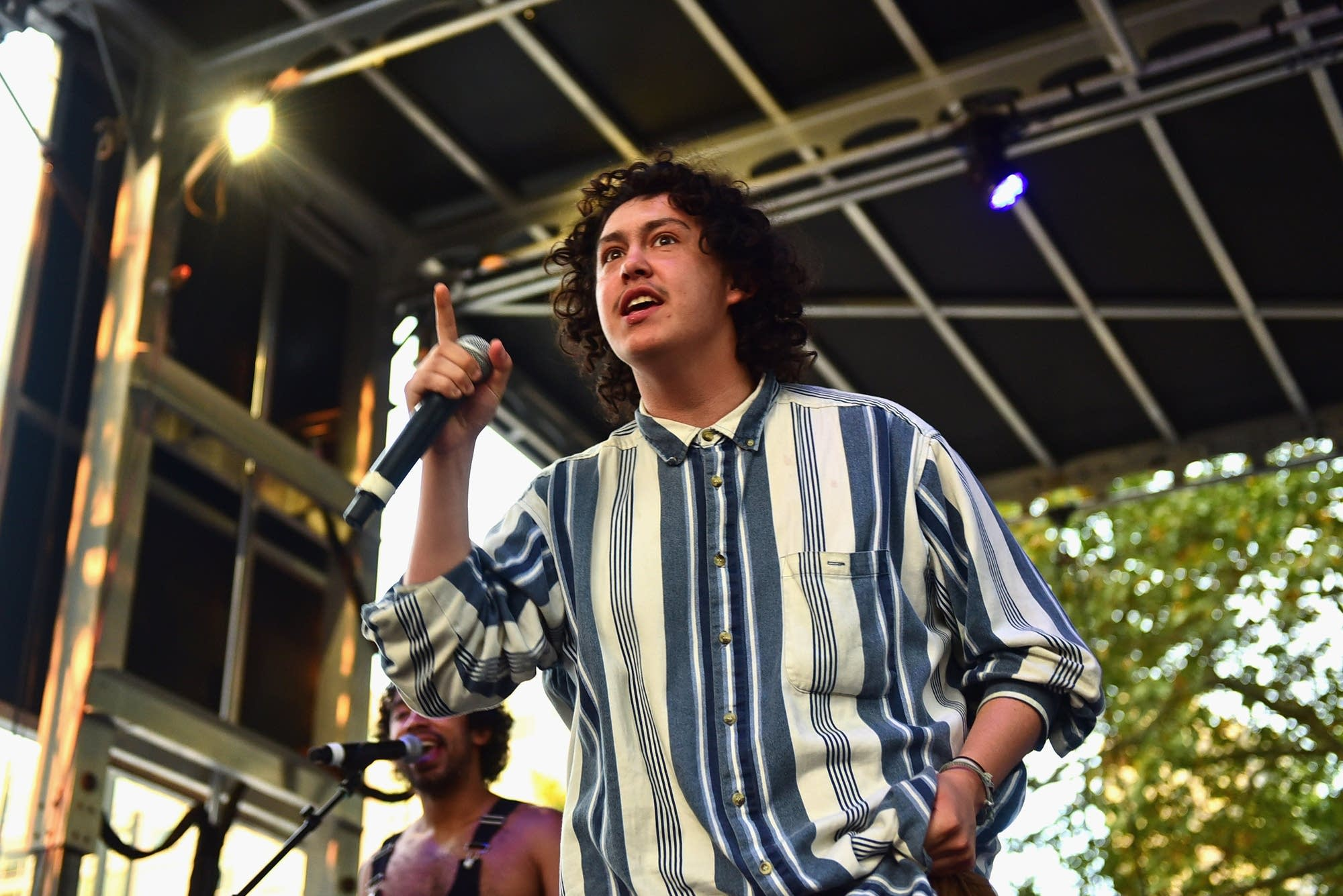 Hobo Johnson performs at 2018 Made in America Festival