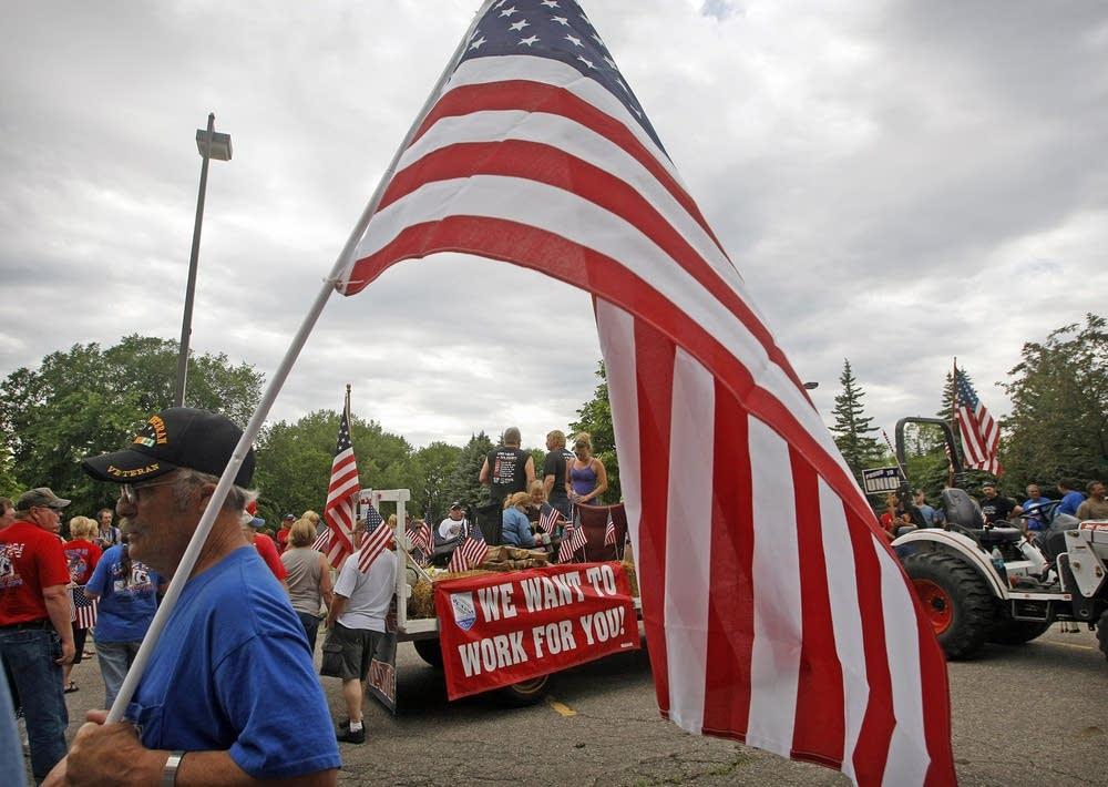 American Crystal rally