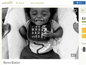 A GoFundMe page for Byron Baxter.
