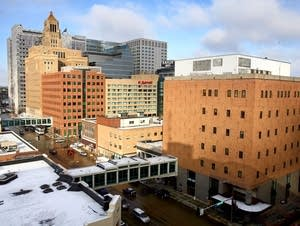 Skyline of downtown Rochester, Minn.