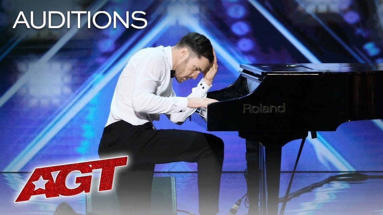 Patrizio Ratto's America's Got Talent audition