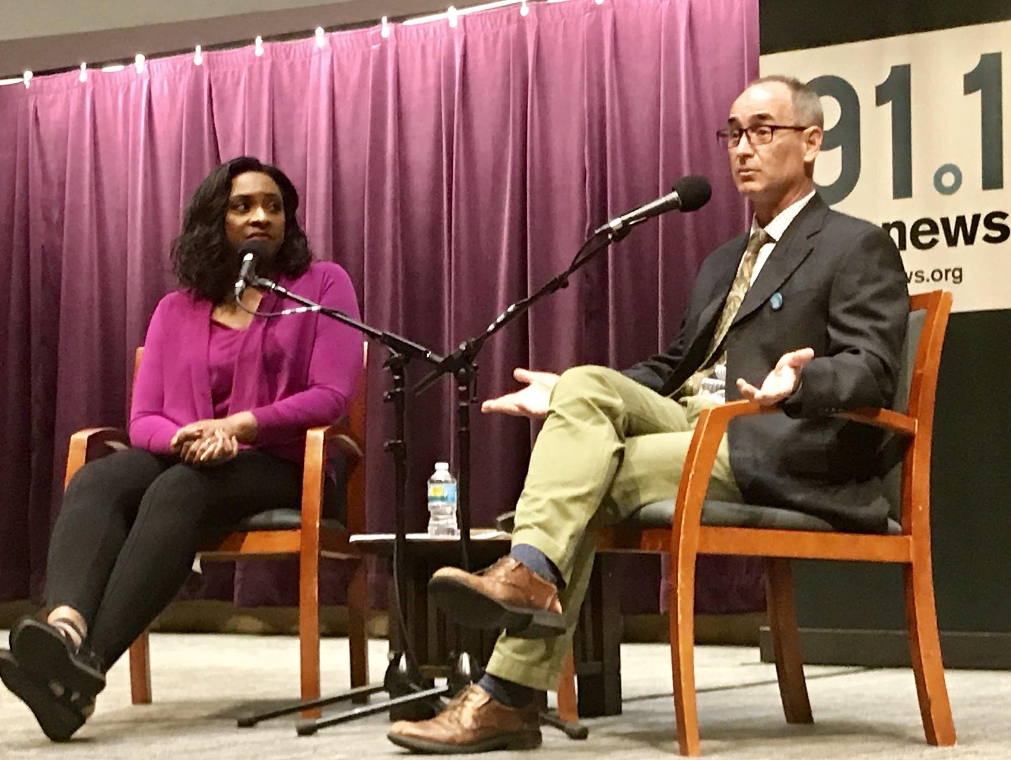 MPR News host Angela Davis interviews NPR's correspondent Jason Beaubien.