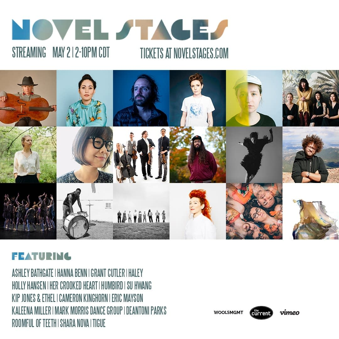 Novel Stages Streaming Arts Festival