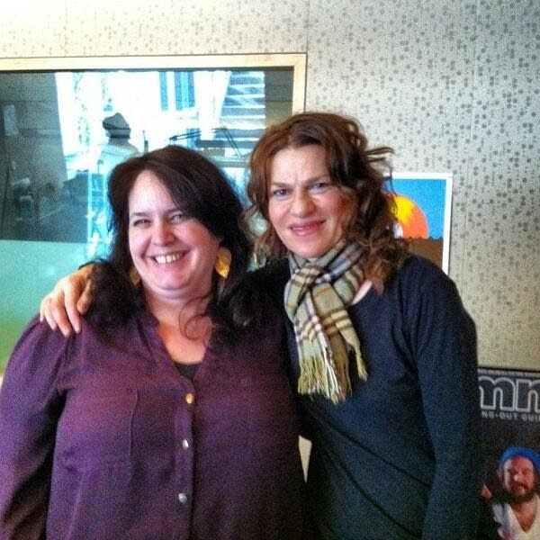 Barb Abney and Sandra Bernhard