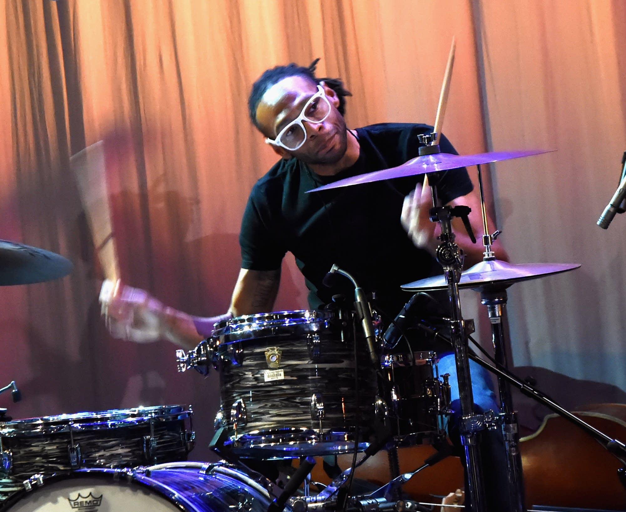 Drummer Jerry Pentecost