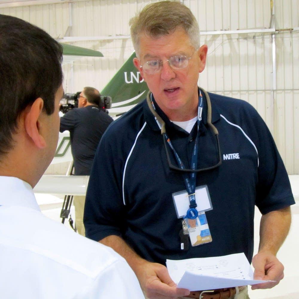 Todd Stock, MITRE Corporation engineer