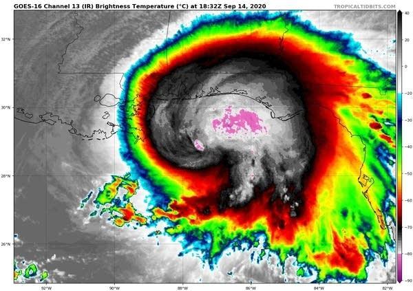 Hurricane Sally intensifies; Gulf Coast landfall Tuesday ...Hurricane Sally Track
