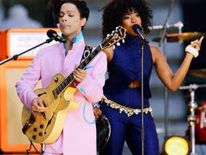Prince and singer Tamar