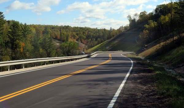 Hwy. 210 reopened more than five years after it was closed due to floods.