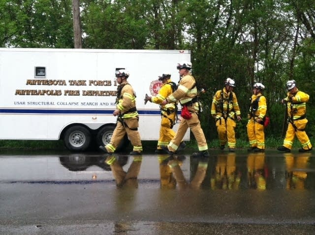 Fire department responds