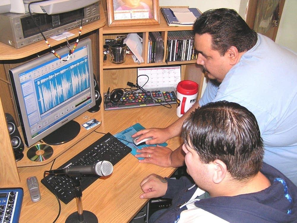 Red Lake Radio studio