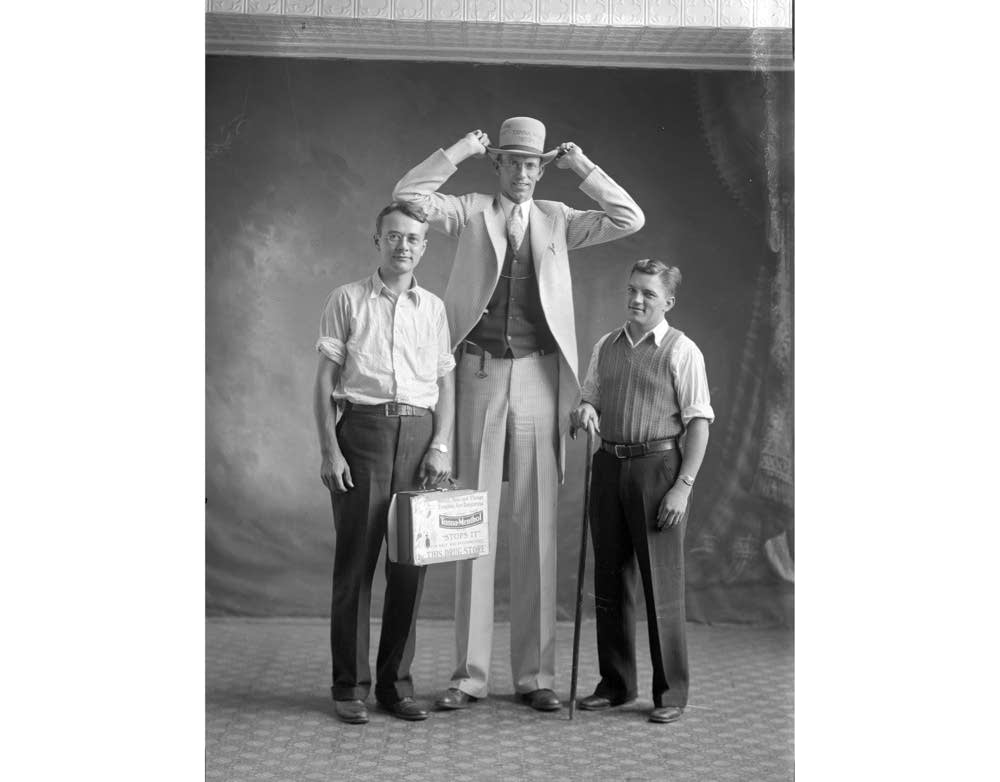 Ray Williams, allegedly the world's tallest man.