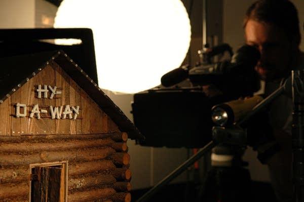Shooting a dollhouse