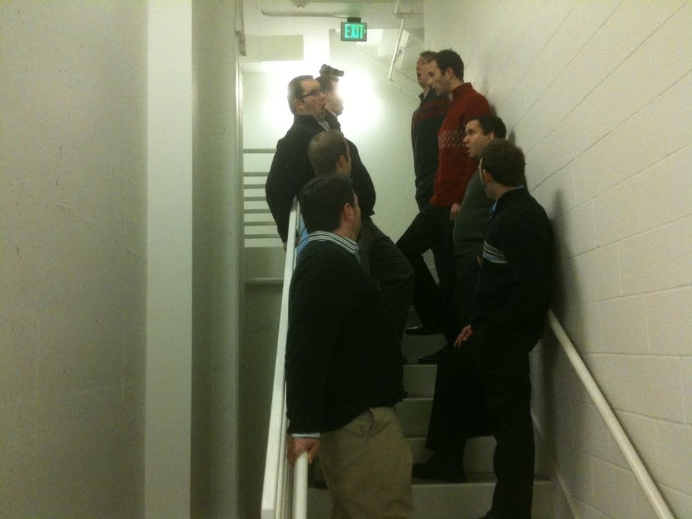 Cantus in the basement