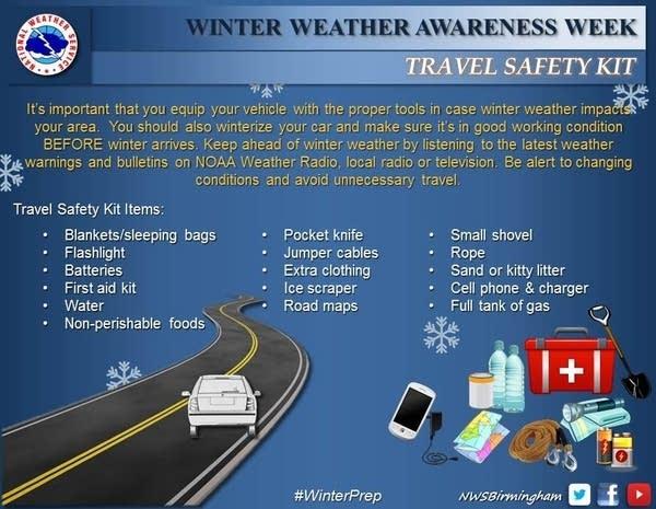 winter car travel_kit