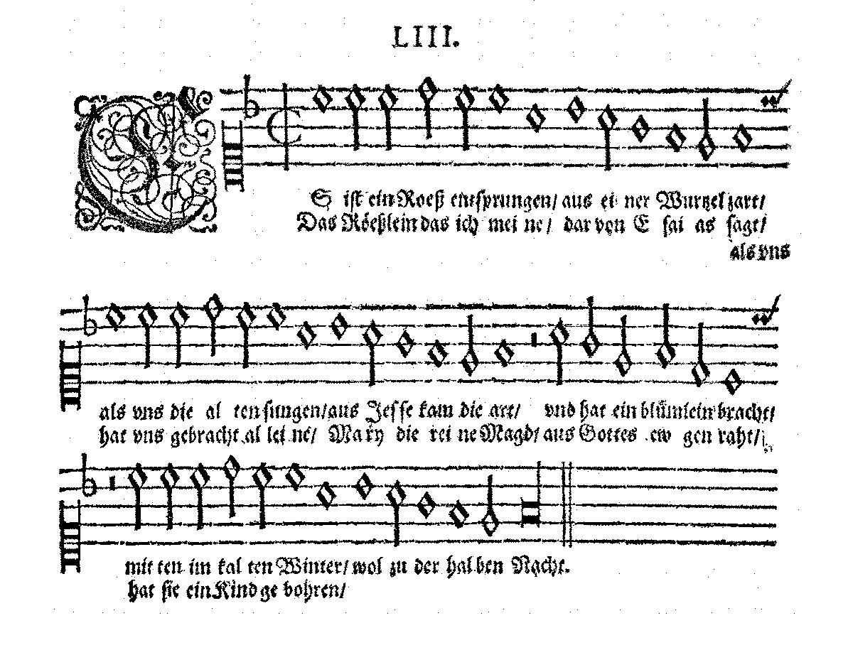 3cbdbf 20161213 es ist ein rose entsprungen manuscript