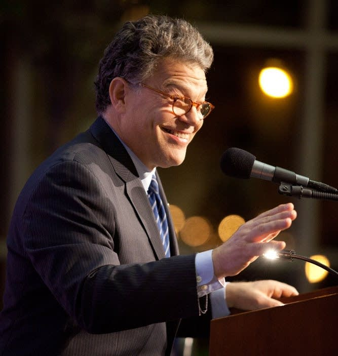 Franken at Don Shelby Roast