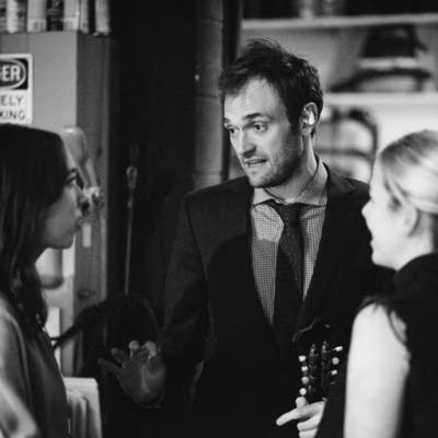 Sarah Jarosz, Chris Thile, and Aoife O'Donovan - photo by Nate Ryan
