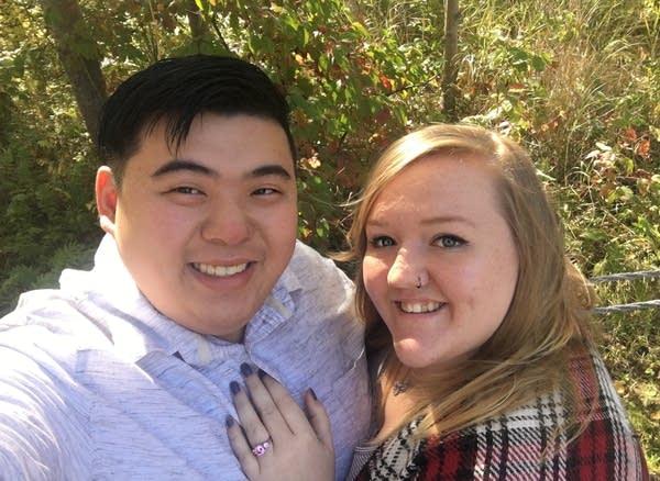 David Quach and Liz Horsch are getting married Super Bowl weekend.