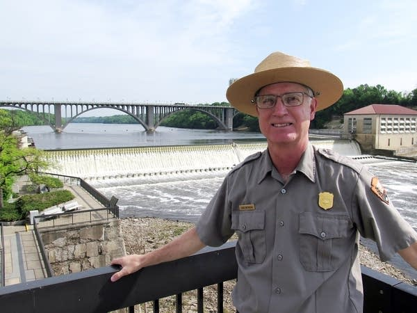 John Anfinson, superintendent of the Miss. Nat'l River and Recreation Area
