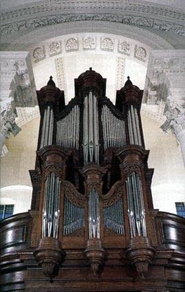 1993 Klais organ at Saint John's, Smith Square, London, England, UK