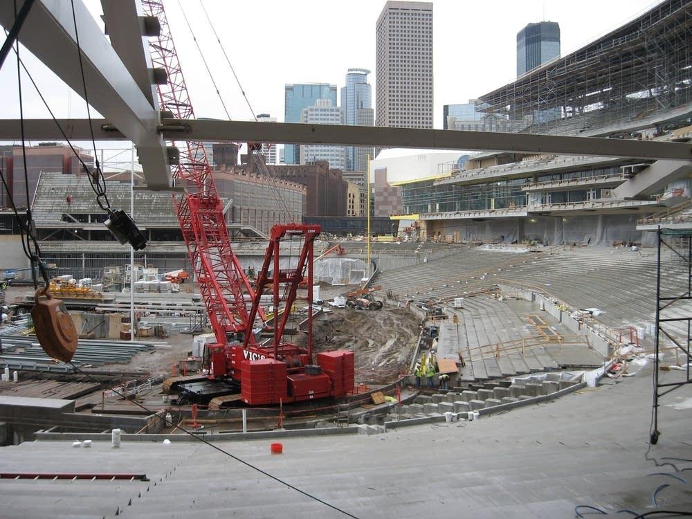 Target Field construction