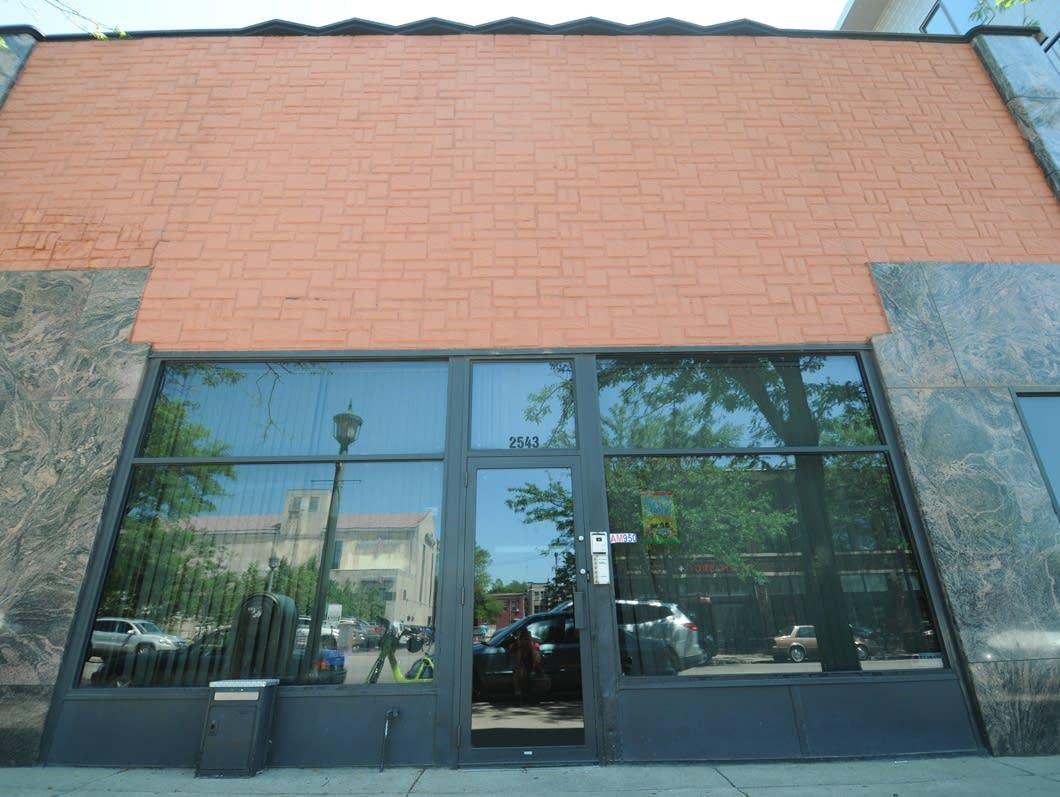 Former site of Kay Bank Studios in Minneapolis.