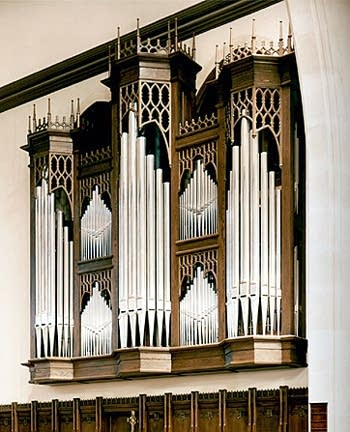 1994 Noack organ at the Church of the Incarnation in Dallas, Texas