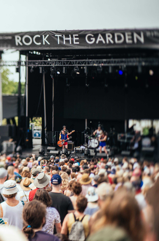 Heart Bones perform at Rock the Garden 2019