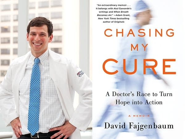 "David Fajgenbaum, author of ""Chasing My Cure."""