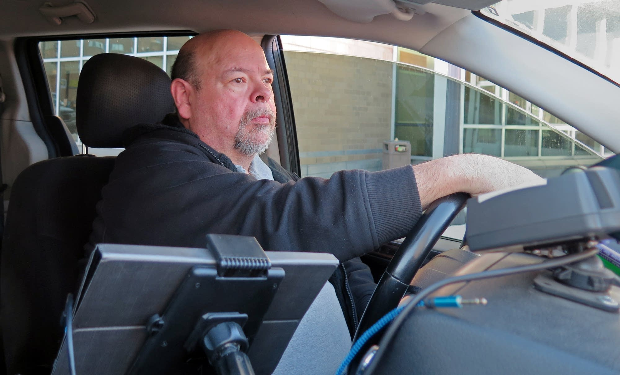 John Shannon has been driving cabs for more than thirty years.