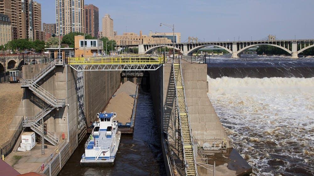 Upper St. Anthony Falls Lock and Dam