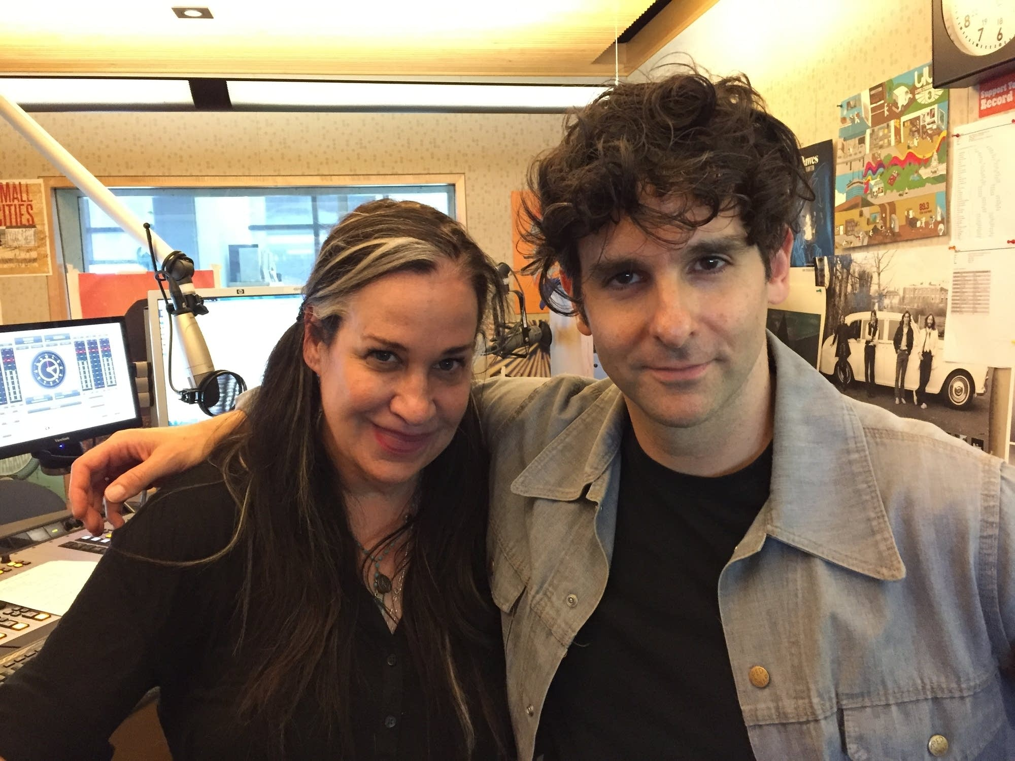 Mary Lucia with Low Cut Connie's Adam Weiner