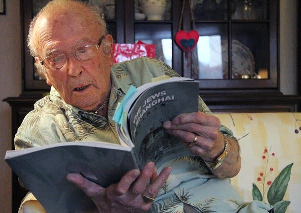 Curt Hort flipped through a history book.