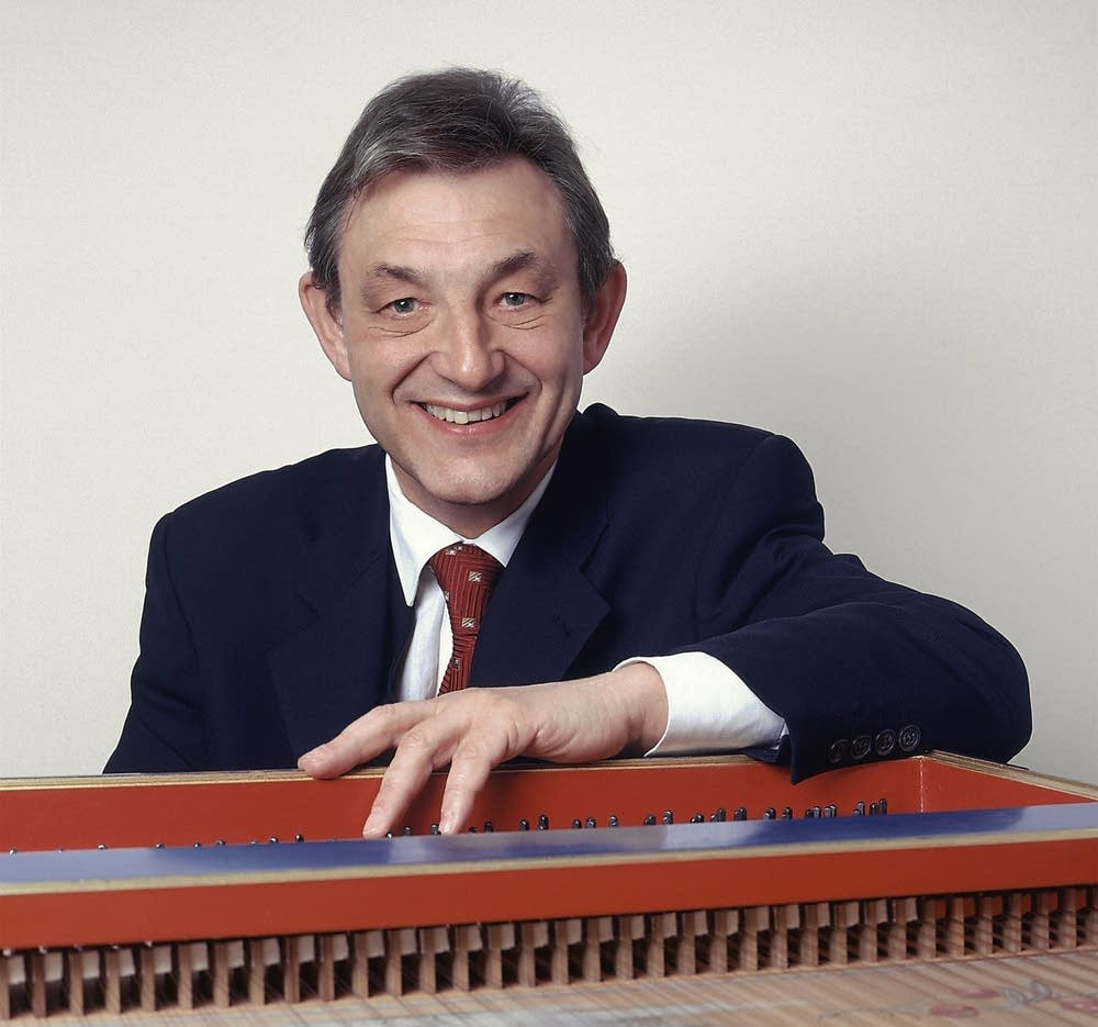 Trevor Pinnock is a harpsichordist and conductor