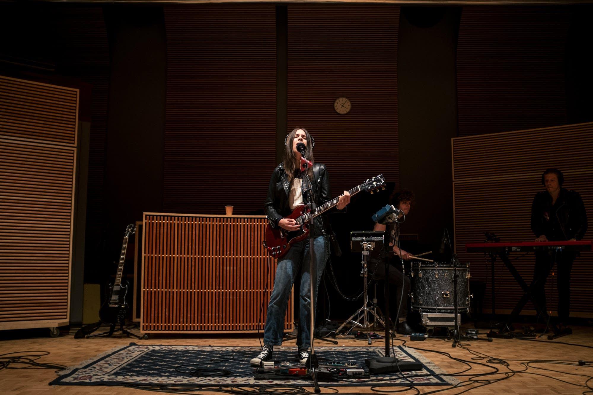 haim in studio 6