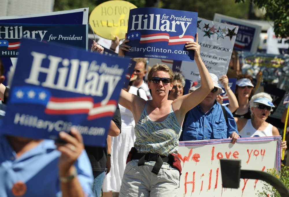 Hillary Clinton supporters