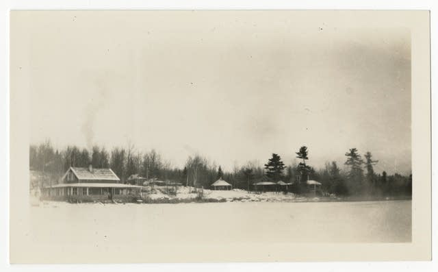 Vermilion Lodge on Lake Vermilion, circa 1940