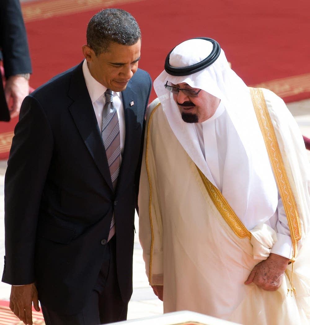 Obama speaks with Saudi King