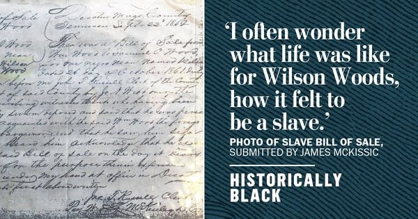 Tracking Down a Slave's Bill of Sale