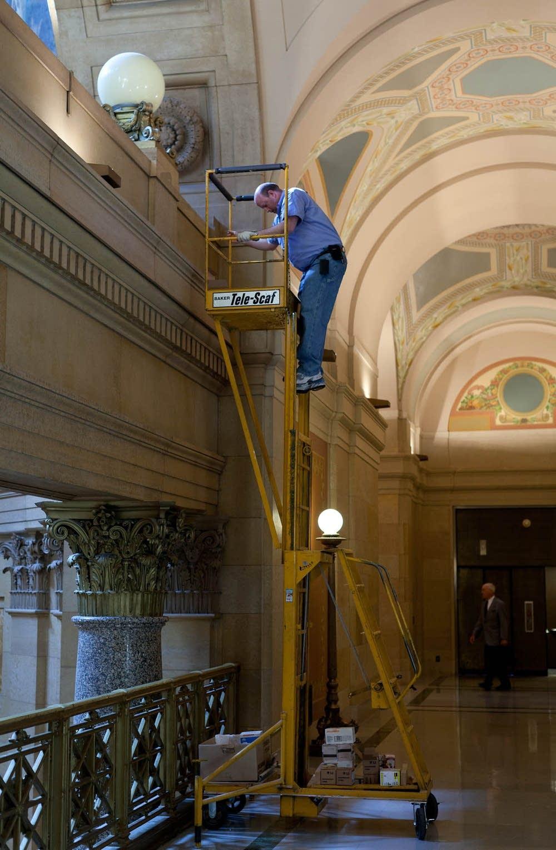 State Capitol repairs