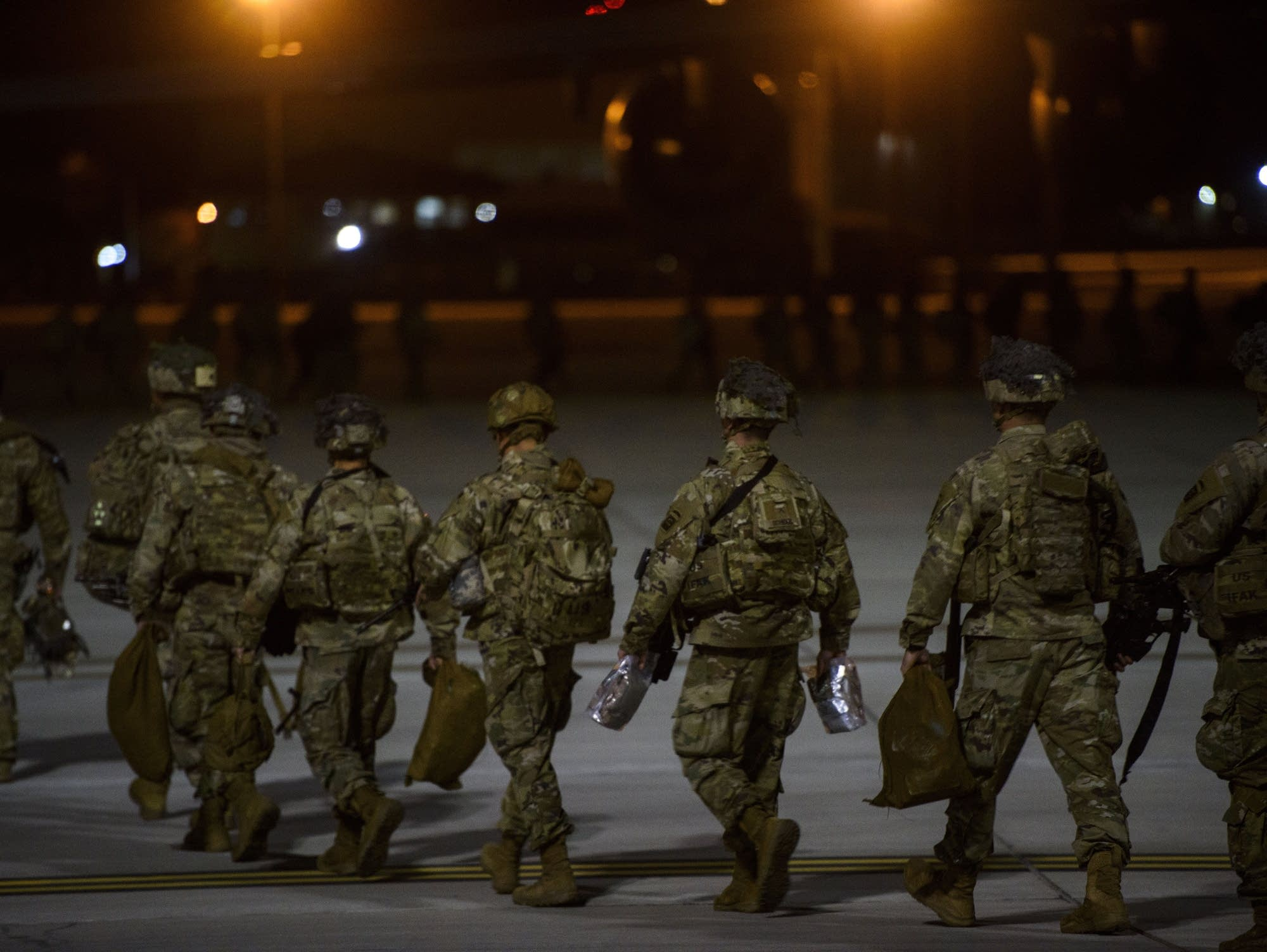 US Paratroopers Deploy in Response to the increased threat Levels – Jan 01 2020