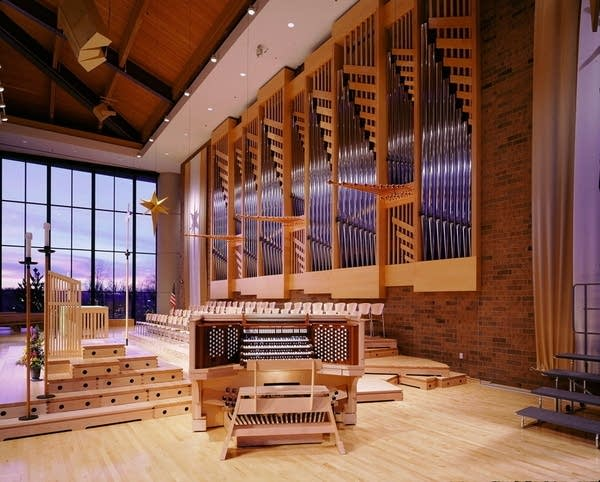 1927 Casavant-2001 Schantz/St. Andrew's Lutheran Church, Mahtomedi, MN