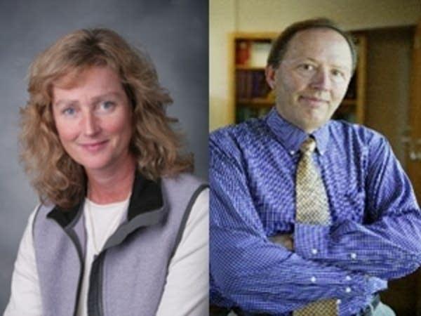 Deborah Swackhamer and Dave Tilman