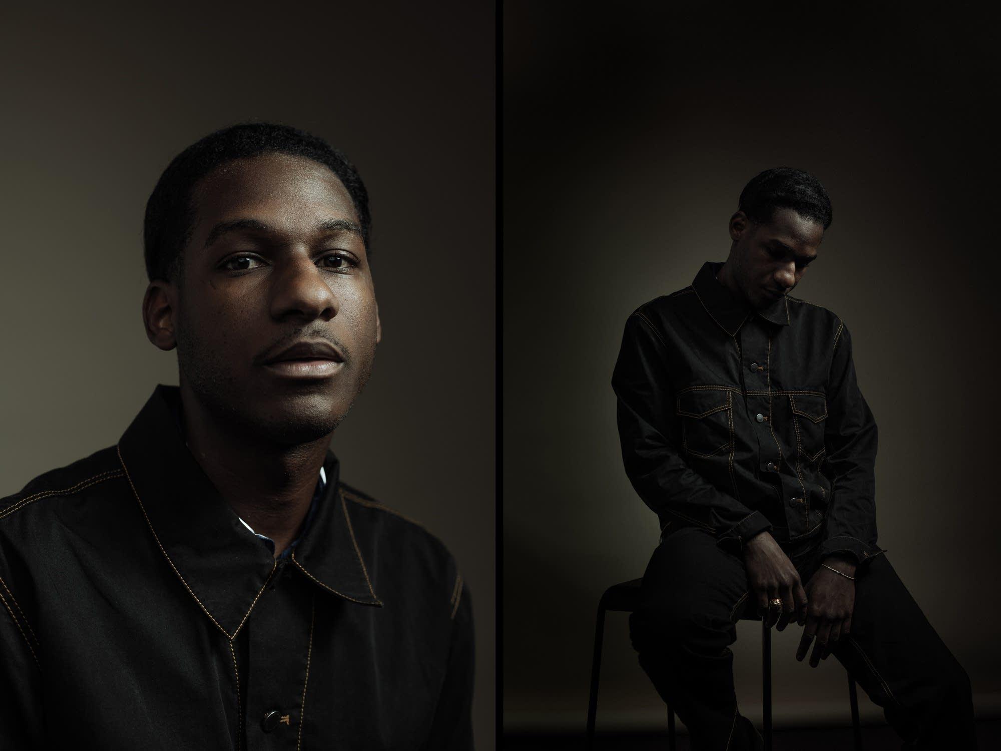 Leon Bridges: portrait diptych