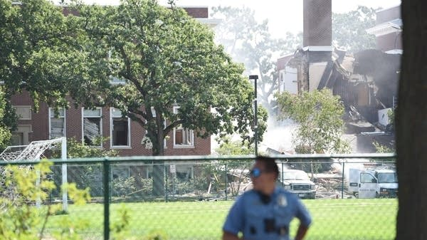 Explosion at Minnehaha Academy in Minneapolis
